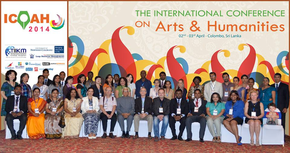 2014 Int  Conf  on Art & Humanities, 2-4 May