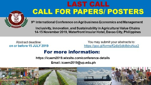 CALL FOR PAPERS LAST CALL RSZ40