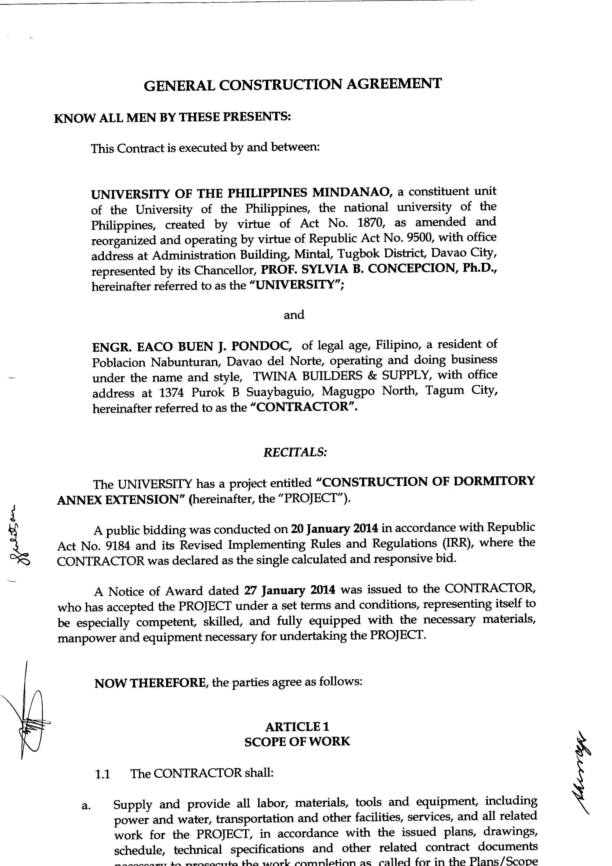Supplier Agreement Template Contegri Com