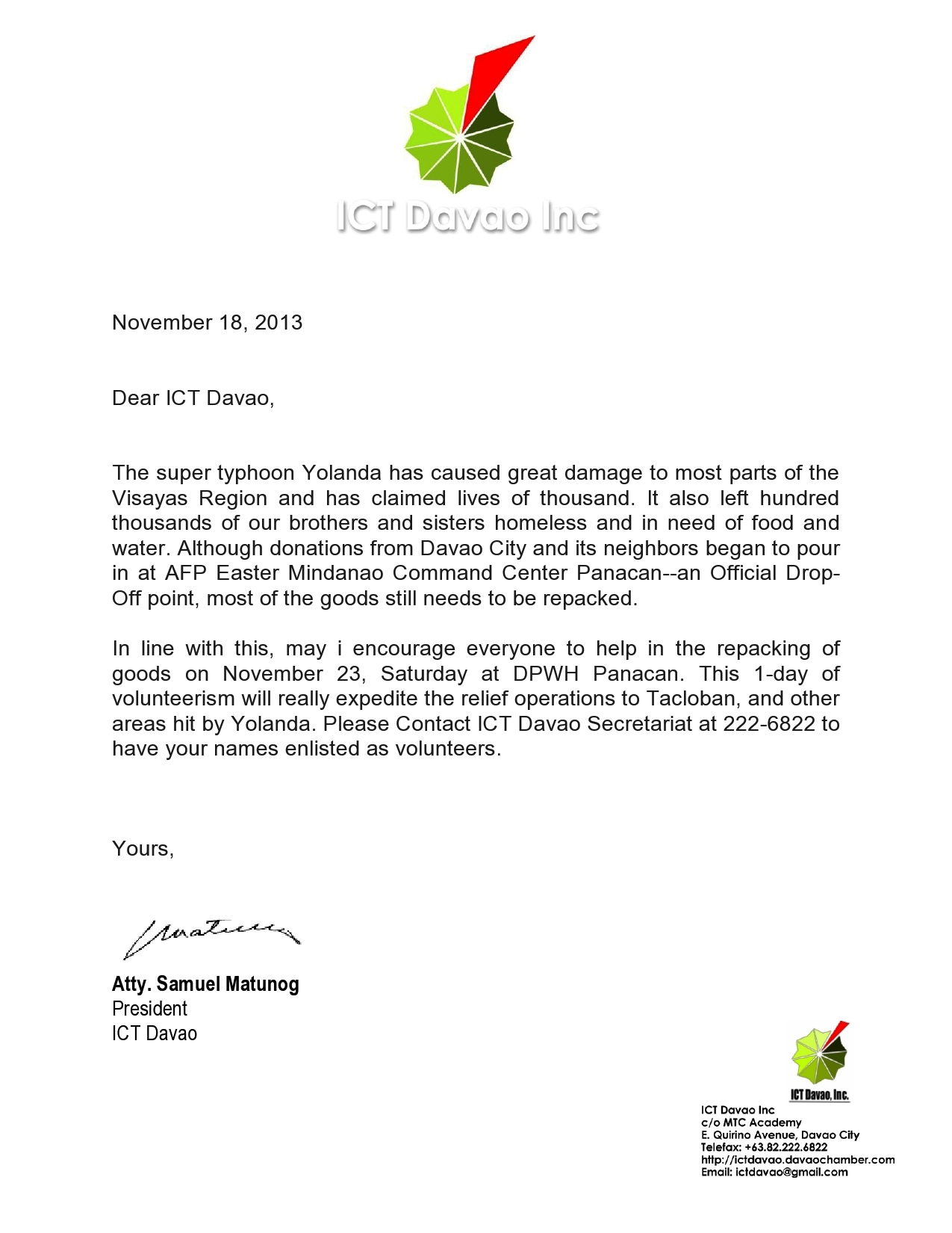 Application letter for ict officer altavistaventures Images