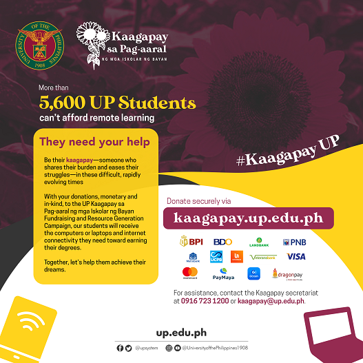 Kaagapay sa Pag-aaral social media Eng with bank logos 15PERCENT